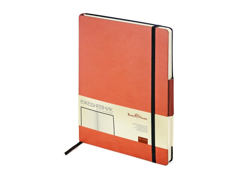 Ежедневник В5 недатированный Zenith, оранжевый