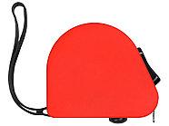 Рулетка 3м Meter, софт-тач, красный, фото 3