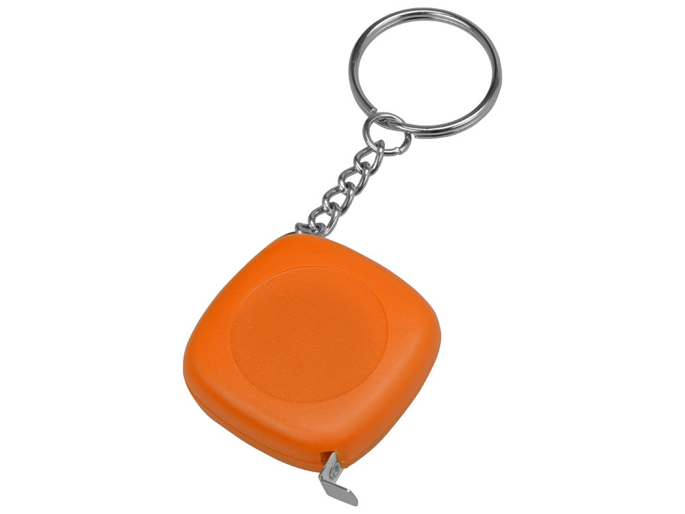 Брелок-рулетка 1м Block, оранжевый