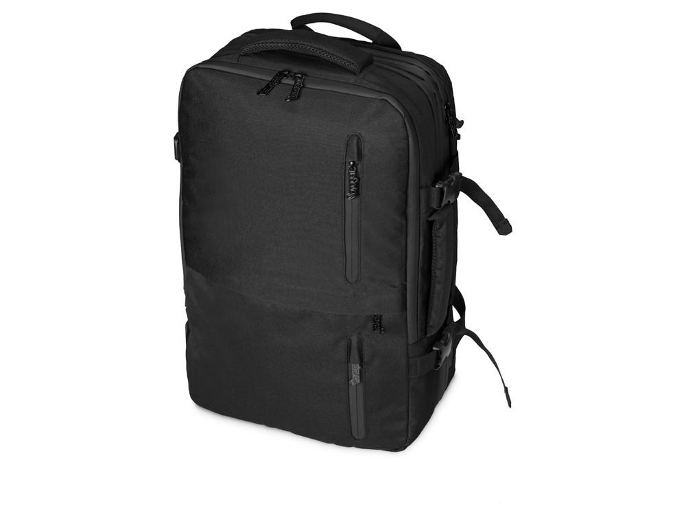 Водостойкий рюкзак-трансформер Convert для ноутбука 15, черный