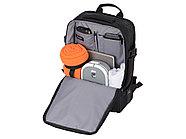 Водостойкий рюкзак-трансформер Convert для ноутбука 15, черный, фото 3