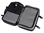 Водостойкий рюкзак-трансформер Convert для ноутбука 15, черный, фото 4