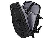 Водостойкий рюкзак-трансформер Convert для ноутбука 15, черный, фото 5