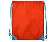 Рюкзак- мешок Clobber, красный/голубой, фото 2