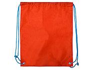 Рюкзак- мешок Clobber, красный/голубой, фото 3