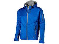 Куртка софтшел Match мужская, небесно-синий/серый