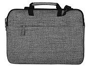 Сумка Plush c усиленной защитой ноутбука 15.6 '', серый, фото 2