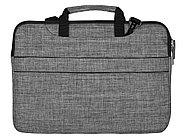 Сумка Plush c усиленной защитой ноутбука 15.6 '', серый, фото 4