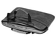 Сумка Plush c усиленной защитой ноутбука 15.6 '', серый, фото 5