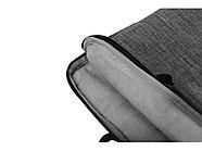 Сумка Plush c усиленной защитой ноутбука 15.6 '', серый, фото 7