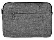 Сумка Plush c усиленной защитой ноутбука 15.6 '', серый, фото 9