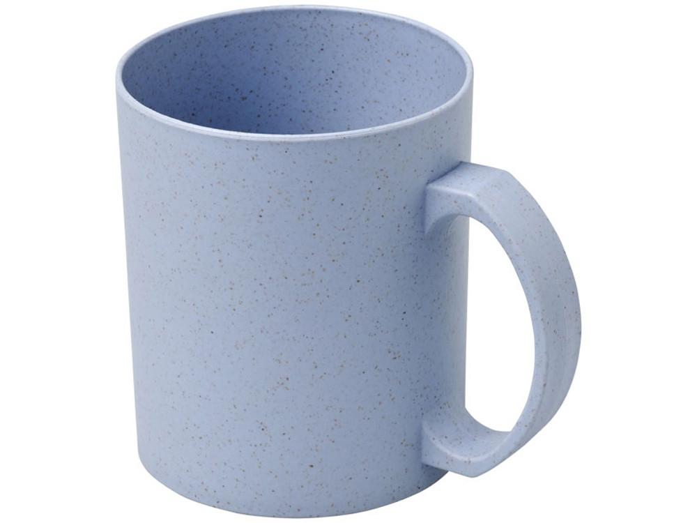 Чашка из пшеничной соломы Pecos 350 мл, серый