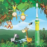 CS Medica: детская звуковая зубная щетка CS-562 Junior, с 5 лет