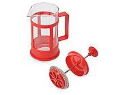 Пластиковый френч-пресс Savor, 350 мл, красный, фото 2