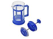 Пластиковый френч-пресс Savor, 350 мл, синий, фото 2