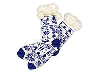 Домашние носки женские, синий