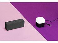 Портативная колонка с подсветкой Deco, soft touch, черный, фото 8
