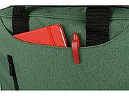 Сумка для ноутбука Wing с вертикальным наружным карманом, зеленое яблоко, фото 3