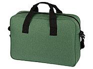 Сумка для ноутбука Wing с вертикальным наружным карманом, зеленое яблоко, фото 4