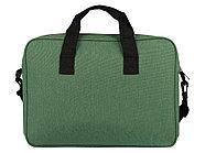 Сумка для ноутбука Wing с вертикальным наружным карманом, зеленое яблоко, фото 6