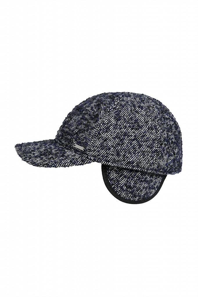 Кепи мужское Finn Flare, цвет темно-серый, размер 59 - фото 1