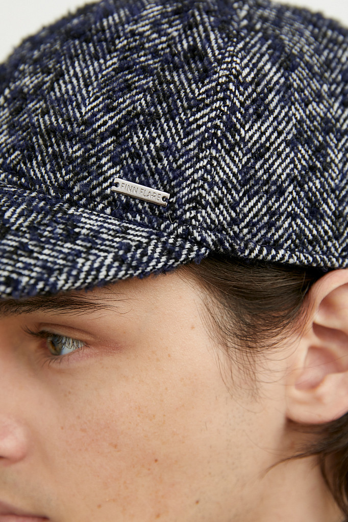 Кепи мужское Finn Flare, цвет темно-серый, размер 59 - фото 4