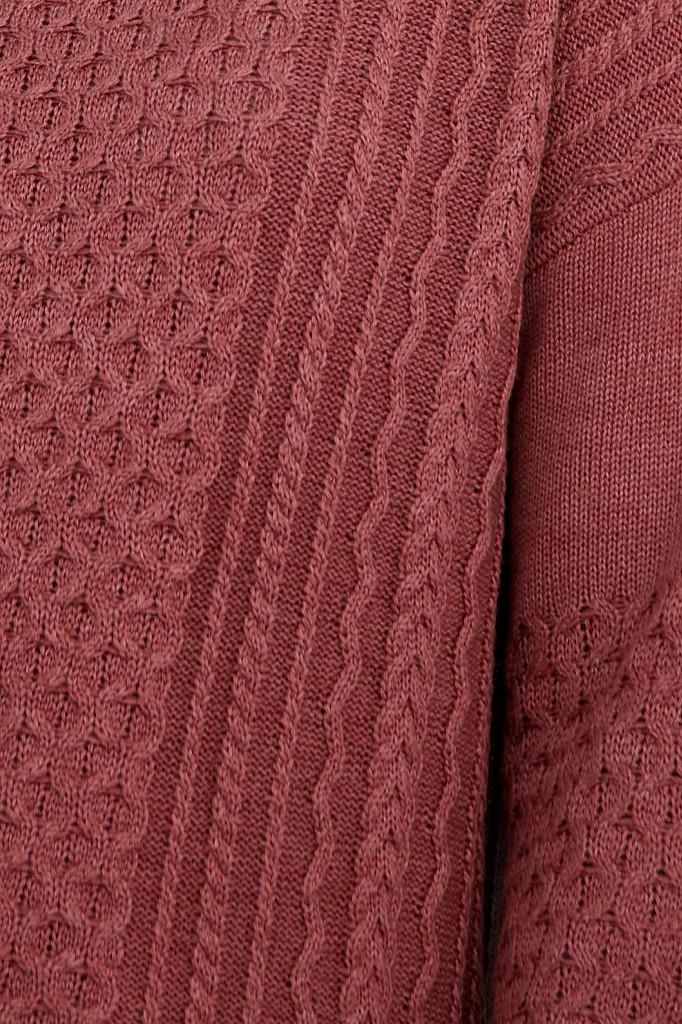 Джемпер женский Finn Flare, цвет темно-розовый, размер XL - фото 4
