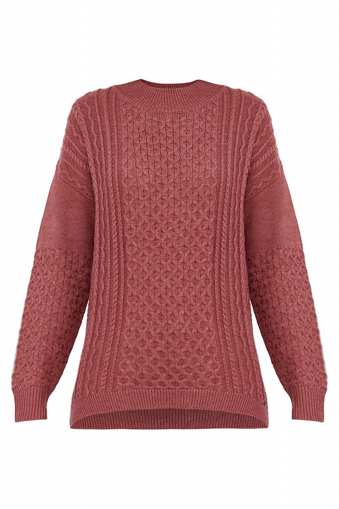 Джемпер женский Finn Flare, цвет темно-розовый, размер XL - фото 7