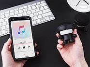 Портативная колонка Bluetooth XOOPAR mini Xboy Metallic, черный, фото 4