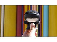 Портативная колонка Bluetooth XOOPAR mini Xboy Metallic, черный, фото 8