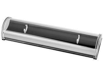 Футляр для ручки Тьюб, черный/прозрачный