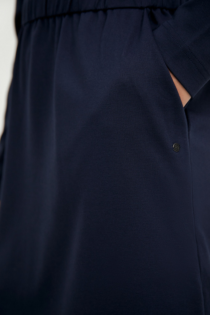 Платье женское Finn Flare, цвет темно-синий, размер S - фото 5