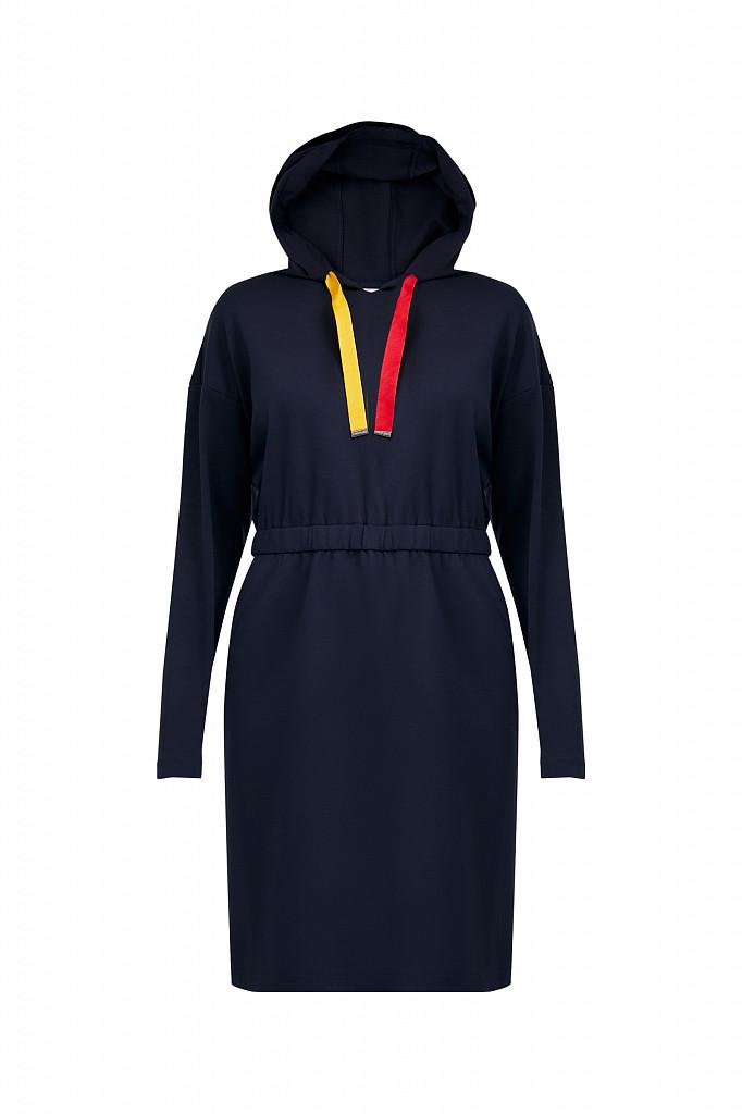 Платье женское Finn Flare, цвет темно-синий, размер S - фото 7