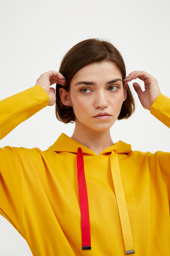 Платье женское Finn Flare, цвет желтый, размер XL - фото 6