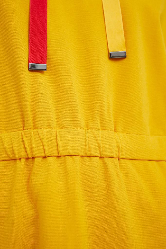 Платье женское Finn Flare, цвет желтый, размер L - фото 5