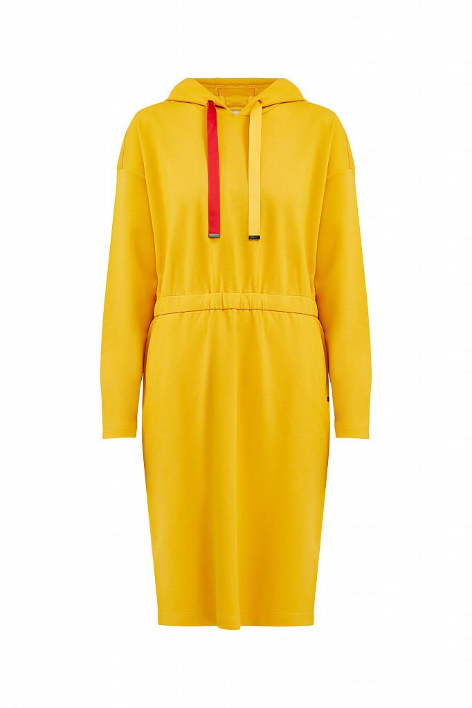 Платье женское Finn Flare, цвет желтый, размер L - фото 7