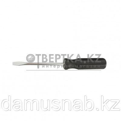 Отвертка SL3-75мм углеродистая сталь черная пластиковая рукоятка Sparta