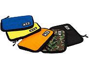 Органайзер для зарядных устройств, USB-флешек и других аксессуаров, синий, фото 3