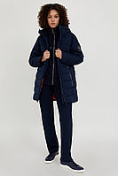 Полупальто женское Finn Flare, цвет темно-синий, размер 2XL