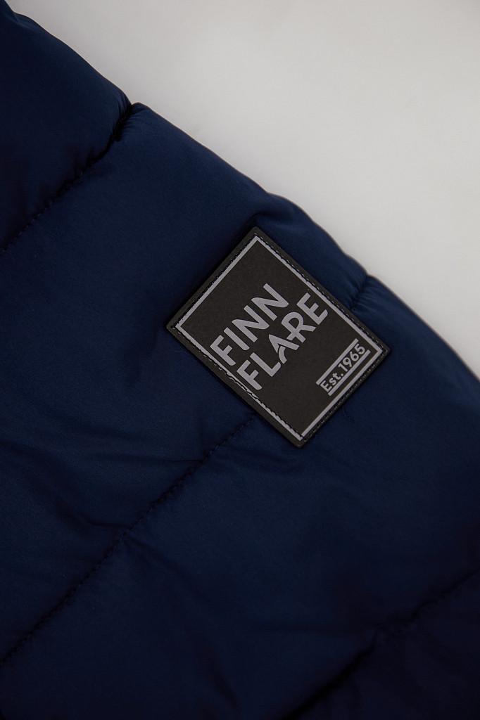 Полупальто женское Finn Flare, цвет темно-синий, размер M - фото 8