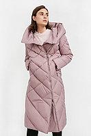 Пальто женское Finn Flare, цвет серо-розовый, размер XS