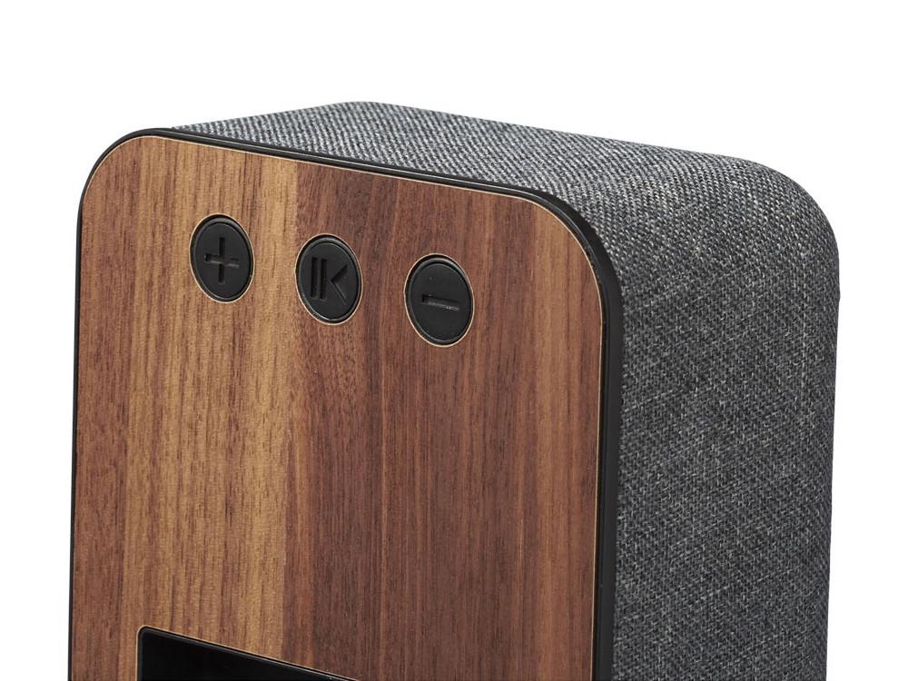 Динамик Shae Bluetooth® с элементами дерева и ткани - фото 3