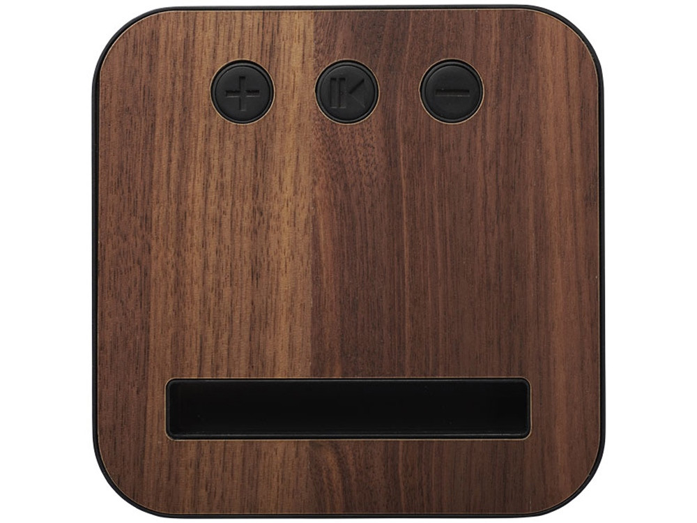 Динамик Shae Bluetooth® с элементами дерева и ткани - фото 4