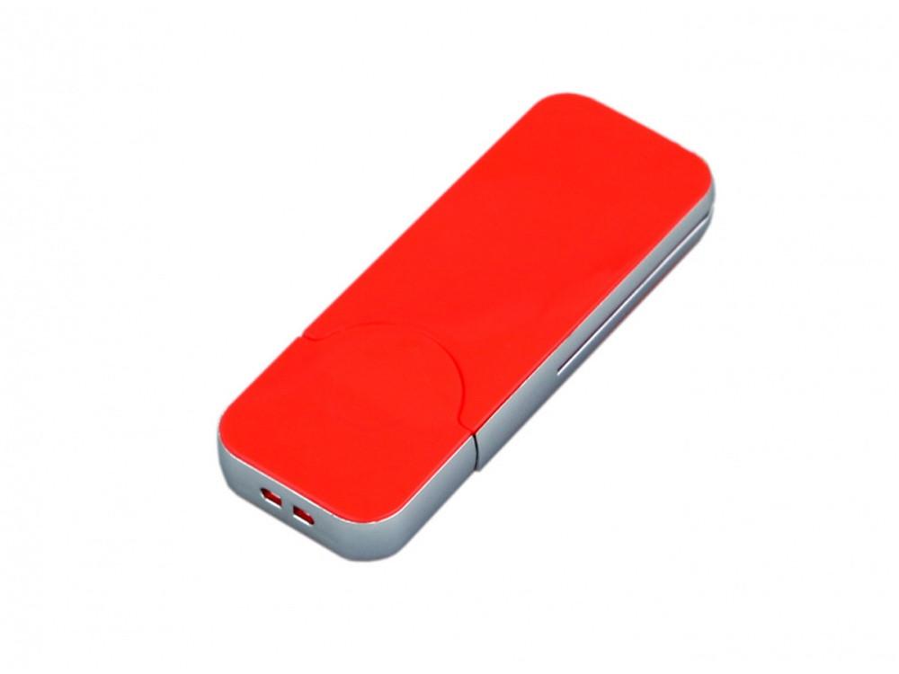 USB-флешка на 8 Гб в стиле I-phone, прямоугольнй формы, красный