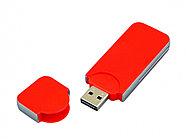 USB-флешка на 8 Гб в стиле I-phone, прямоугольнй формы, красный, фото 2
