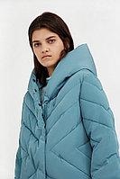 Пальто женское Finn Flare, цвет темно-бирюзовый, размер XL