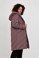 Пальто женское Finn Flare, цвет серо-сиреневый, размер S