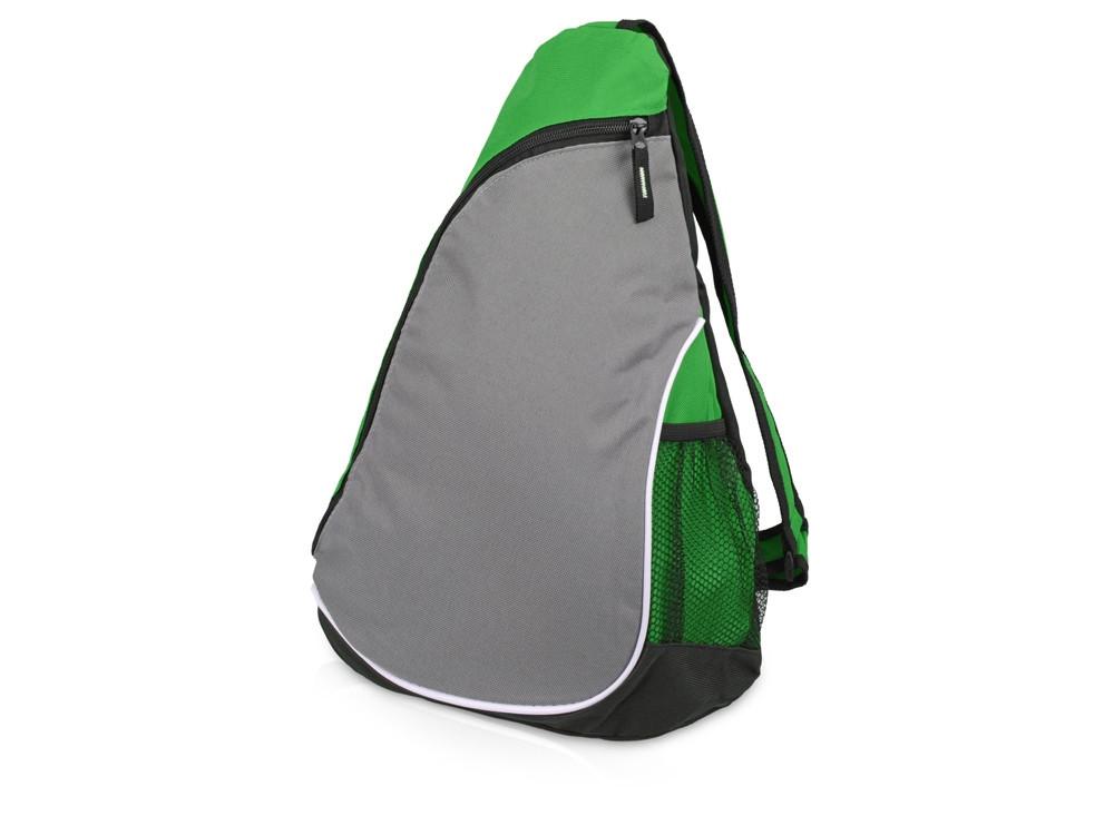 Рюкзак Спортивный, зеленый/серый - фото 1