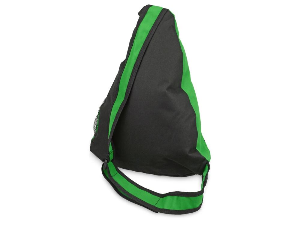 Рюкзак Спортивный, зеленый/серый - фото 2