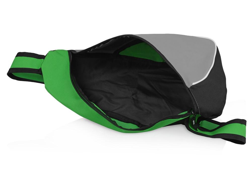 Рюкзак Спортивный, зеленый/серый - фото 3